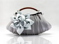 Women Flower Satin Evening Bag $39.93