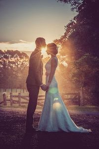 Sun setting on a special day | Don't Say Cheese Photography