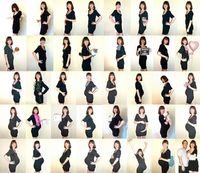 Weekly Maternity Photo by It's Great To Be Home, via Flickr