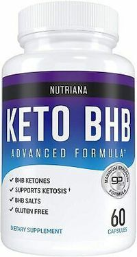 Keto Diet Pills Keto Max Slim Fit Supplement BHB Salts Exogenous Ketones Ketosis