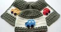 Free crochet pattern hat and scarf usa
