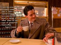 """The year was 1990. The place was the Pacific Northwest. The coffee was hot, the pie plentiful... as were the life lessons. Every fan of """"Twin Peaks"""" ..."""