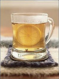 Hot Toddy Recipe...relief from a cold and cough.