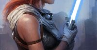 Mara Jade Skywalker - God, I love her. Absolutely stopped reading the EU when that thing with Jacen happened.