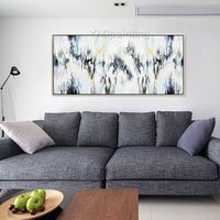 Abstract painting canvas painting cuadros abstractos acrylic painting on canvas,huge size Painting Wall Art Pictures for living room Decor $89.00