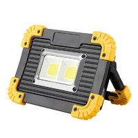 GM812 2x20W COB 4 Modes Rechargeable Work Light Portable Outdoor Mobile Power Bank