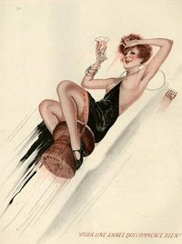 Illustration by Georges Leonnec, for La Vie Parisienne, 1920s