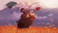 Game of Thrones. If done by Disney. Bran and Hodor