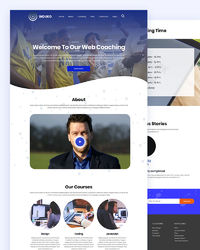 """Induko �€"""" Coaching Classes HTML Template.jpghttps://html.design/download/induko-coaching-html-template/ Induko �€"""" Coaching Classes Html Template. It's suitable for any learning centre, web classes, language courses, school, ..."""