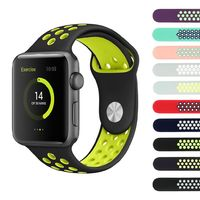 38mm/42mm silicone strap band for apple series 4 3 2 1 $21.99