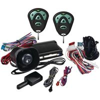 Avital 3100 1-way Security System With Siren & Two 4-button Remotes DEI3100L $47.00