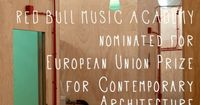 "langaritanavarro: Madrid, Red Bull Music Academy ha sido nominada a los premios europeos de arquitectura contemporánea Mies Van der Rohe. Red Bull Music Academy has been nominated for the European Union Prize for Contemporary Architecture �€""..."