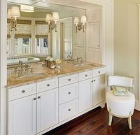 Cobbage Master Bath - traditional - bathroom - charleston - Structures Building Company - sconces