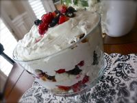 Are you short on time and looking for the perfect 4th of July dessert to take to a picnic? Here you go! Janelle from Comfy in the Kitchen is showing us how to m