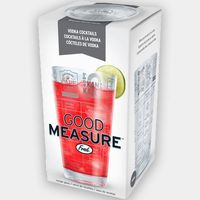 Fred Good Measure Vodka Recipe Glass £10.49