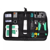 2KT-2170 Network Repair Tool Kit Network Cable Tester Test Plier Cutter Manual Combination Tool Set Hardware Tool Kit