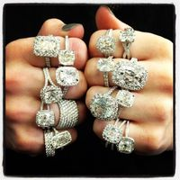 Vintage Engagement Rings... Any of these would be okay with me
