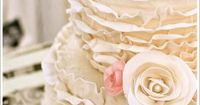 image of Ruffle Wedding Cakes �™� Wedding Cake Design