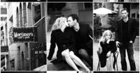 "These engagement photos were inspired by Tim McGraw and Faith Hill's ""Let's Make Love"" music video. Love!"