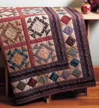 Free Pieced Quilt Borders eBook from Fons & Porter!
