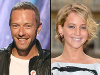 Chris Martin and Jennifer Lawrence Show Off Their �€˜Love'