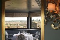 A Scenic Dining Experience at the Hotel Eden, Roma in Italy.