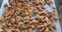 Best candied walnut recipe, fast and easy to make.
