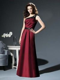 I really like this off the shoulder. Dessy Collection Style 2812, Matte Satin