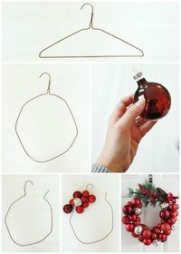 """I know what you're thinking: """"Oh great, another Christmas ornament wreath tutorial,"""" BUT my tutorial comes with a twist! I made my wreath one-handed. That's rig"""