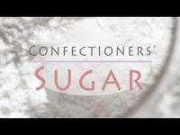 Make confectioners' sugar with everyday table sugar at home, it's easy!
