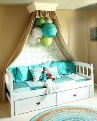 Cute idea for Ellie's toy room! Big Girls Bedroom Reveal