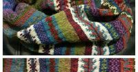 Ravelry: Project Gallery for #28 Mobius Cowl pattern by Maie Landra