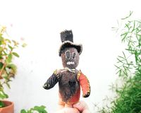 Limited Edition Upcycled Monster Finger Puppet $80.00
