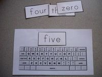 Sight Word Practice - Typing .. Fun new way to practice those sight words :)