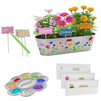 Flower Growing Kit, Gardening Science Set, Plant markers, Educational Project for gift $59.50
