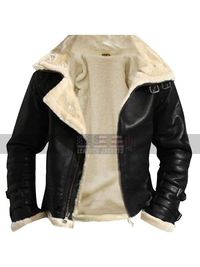 Usa Leather Jackets Offering Men's and Women's Winter Jackets. Buy this amazing B3 Mens Ginger Sheepskin Shearling White Fur Flying Pilot Aviator Leather Jacket at usaleatherjackets.com at the most amazing price along with free worldwide shipp...