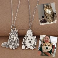 Custom Photo Engraved Favourite Pet Pendant Necklace https://www.gullei.com/custom-photo-engraved-favourite-pet-pendant-necklace.html