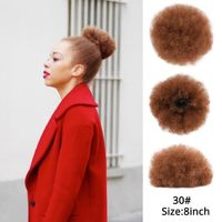 Afro kinky Curly Drawstring Ponytail Extension $21.99