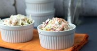 Homemade Creamy Coleslaw - This Gal Cooks-,omit sugar
