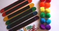 Busy Bag Magnetic Color Matching Preschool by howwelearnathome, $7.50