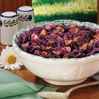 Sweet-Sour Red Cabbage (serve alongside saurbraten)