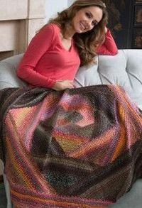 Woodsy Chic Triangle Lapghan
