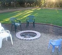 How to Build and In-Ground Fire Pit...I would love to have something like this for the adults to be able to get together and have some fun while the kids are having a little sleep over. But roasting marshmallows with the kids sound fun too.