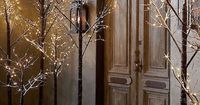 branches lantern decoration for christmas