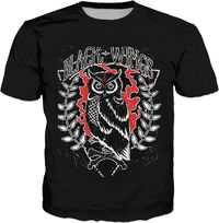 ROTS Black Wings Adult T-Shirt (CT) $25.00