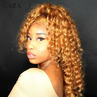 Pre Plucked Lace Front Human Hair Wigs With Baby Hair $428.00