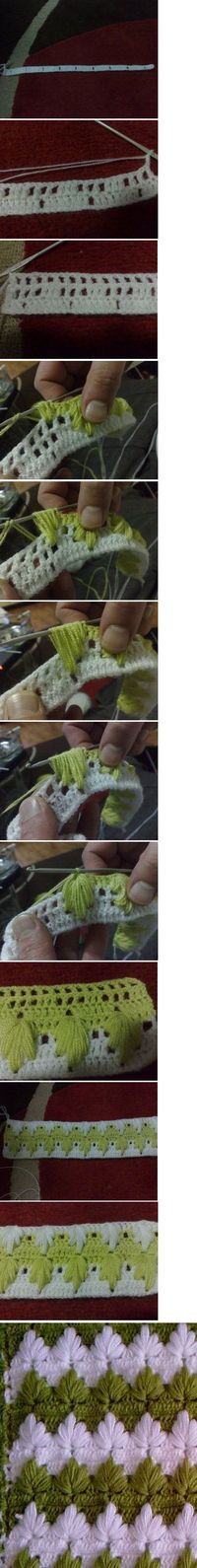 I don't remember the name of this crochet technique but all I need is the tutorial! ;-)
