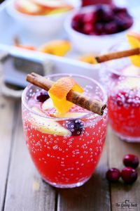 You've planned out the perfect Thanksgiving entrees, side dishes, and desserts. Now all that's left is a fall cocktail to kick off this delicious season. Check out this Cranberry Orange Holiday Punch recipe to enjoy spiced citrus flavors.
