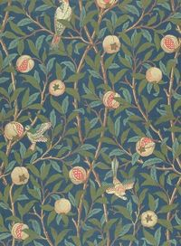'Bird and Pomegranate' Design by William Morris