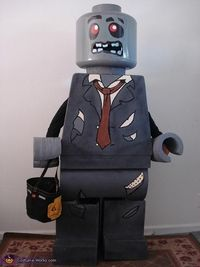 Lego Man Halloween Costume.Posts Similar To A Lego Man Costume Juxtapost